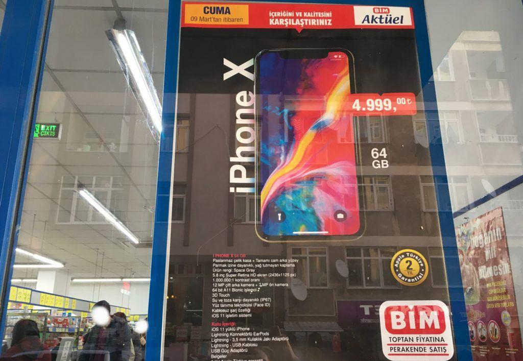 bim iphone x