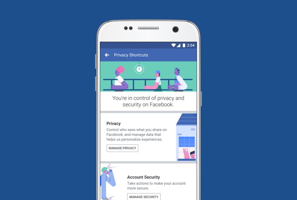 facebook veri ve gizlilik