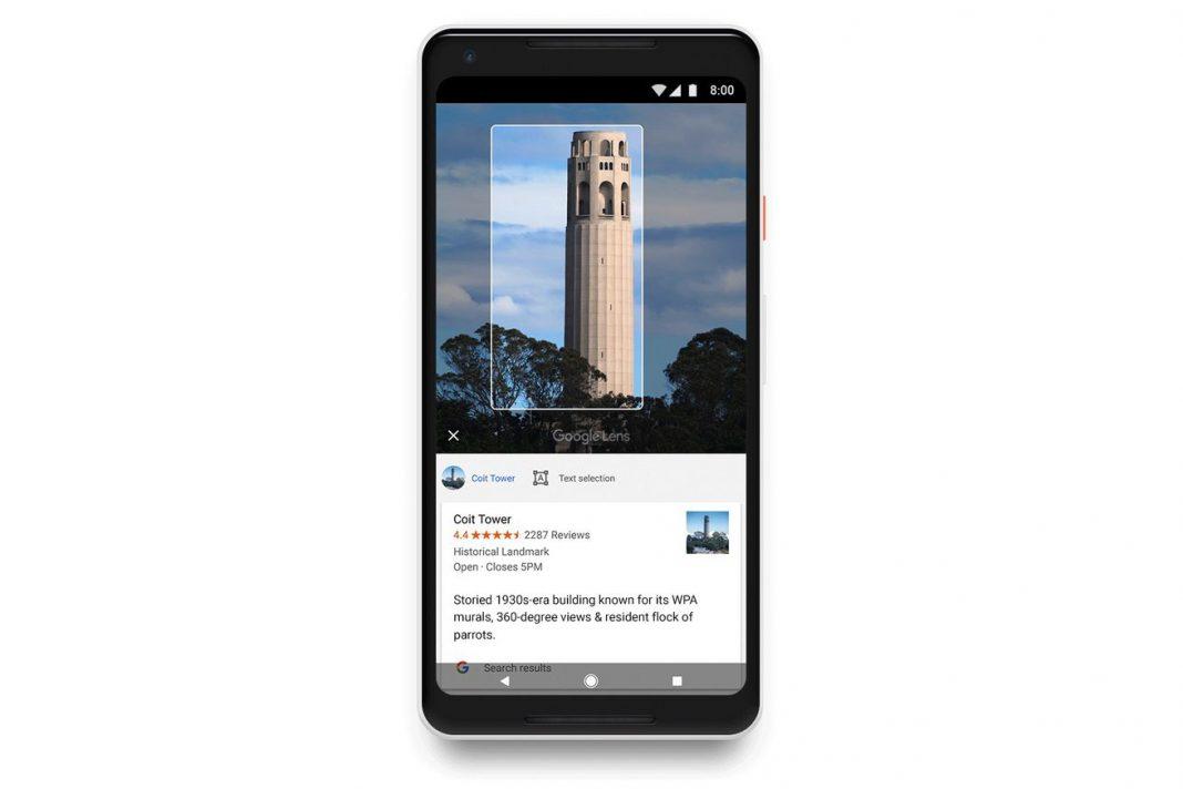 google lens akilli ekran goruntuleri