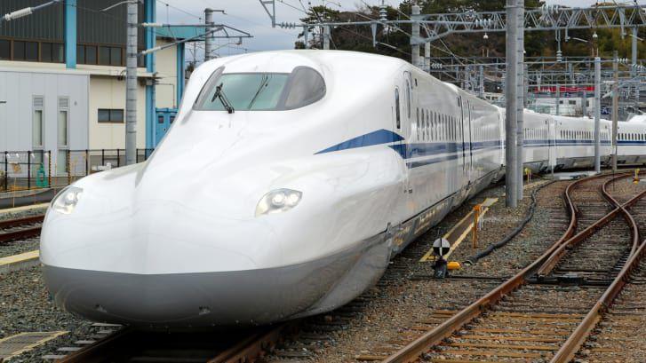 japonya mermi tren