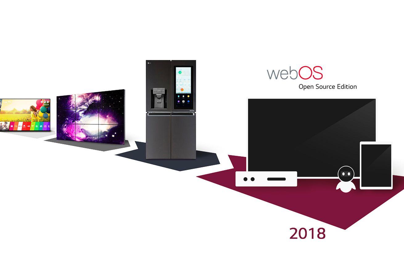 lg webos açık kaynak