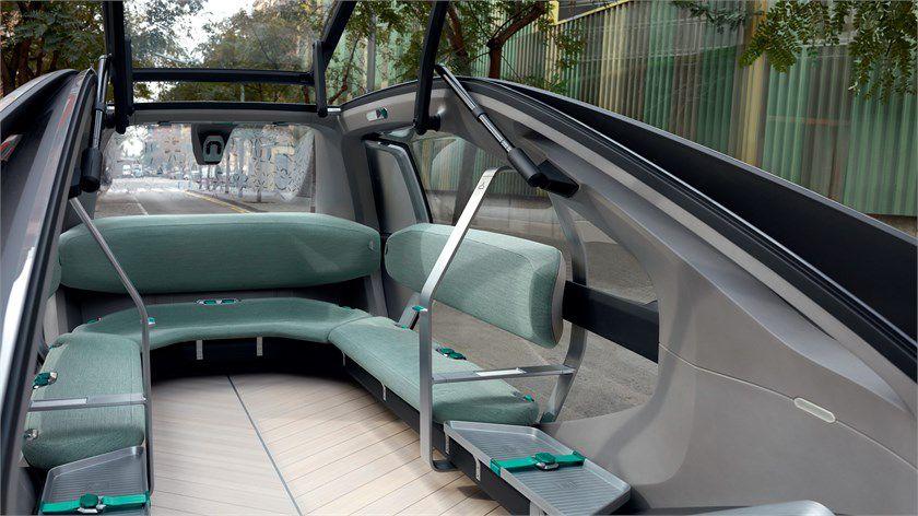 renault ezgo elektrikli sürücüsüz otomobil