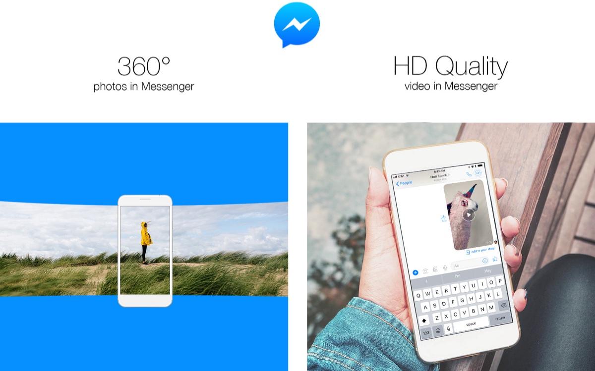facebook messenger 360 derece