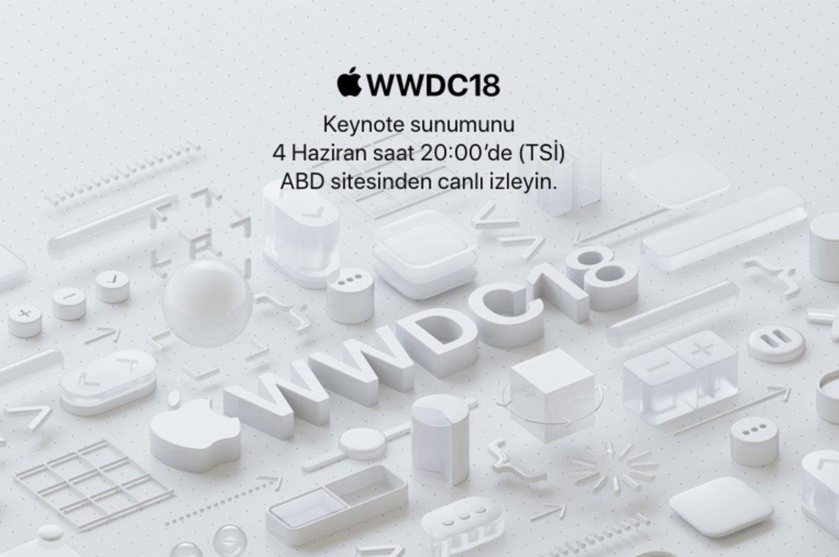 apple wwdc 2018 canlı yayın