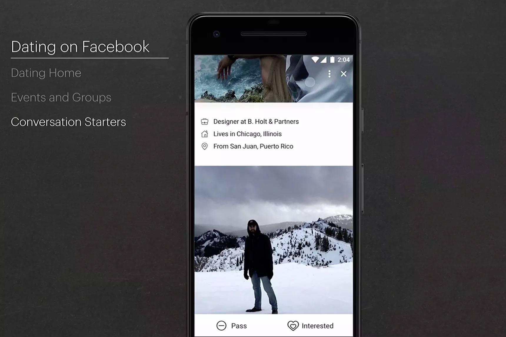 facebook çöpçatan uygulaması