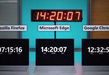 microsoft edge pil ömrü google chrome