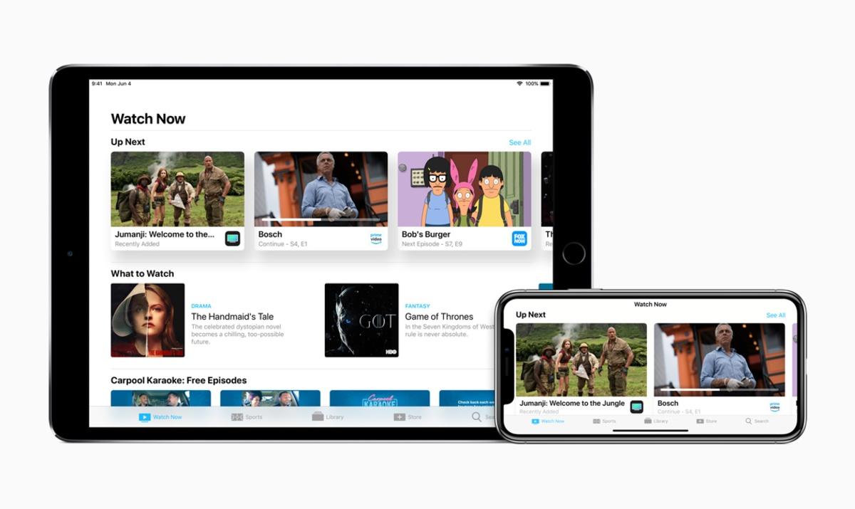 tvos 12 apple tv uygulaması