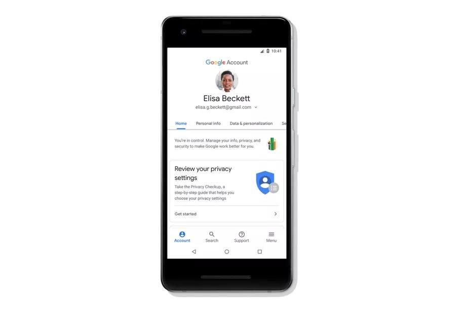 google hesap merkezi