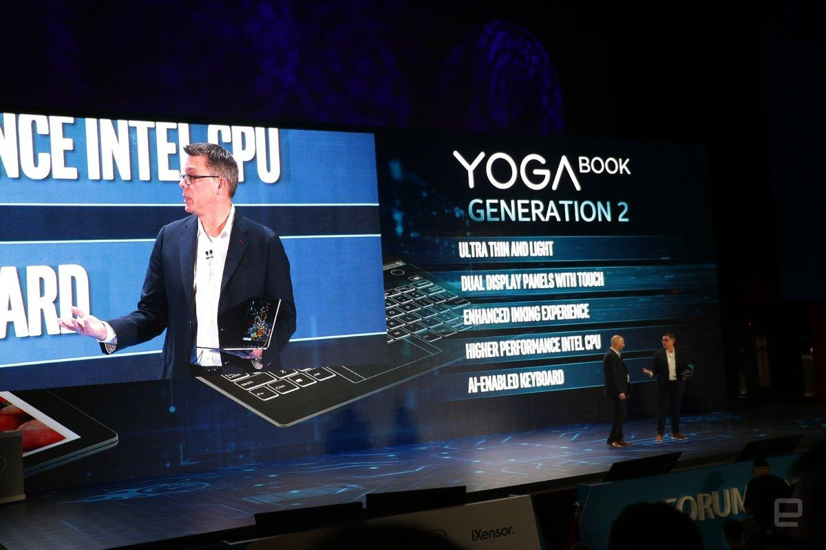 lenovo yoga book computex 2018