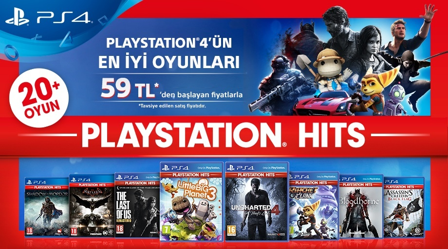 sony playstation hits