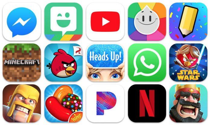 app store popüler uygulamalar mobil