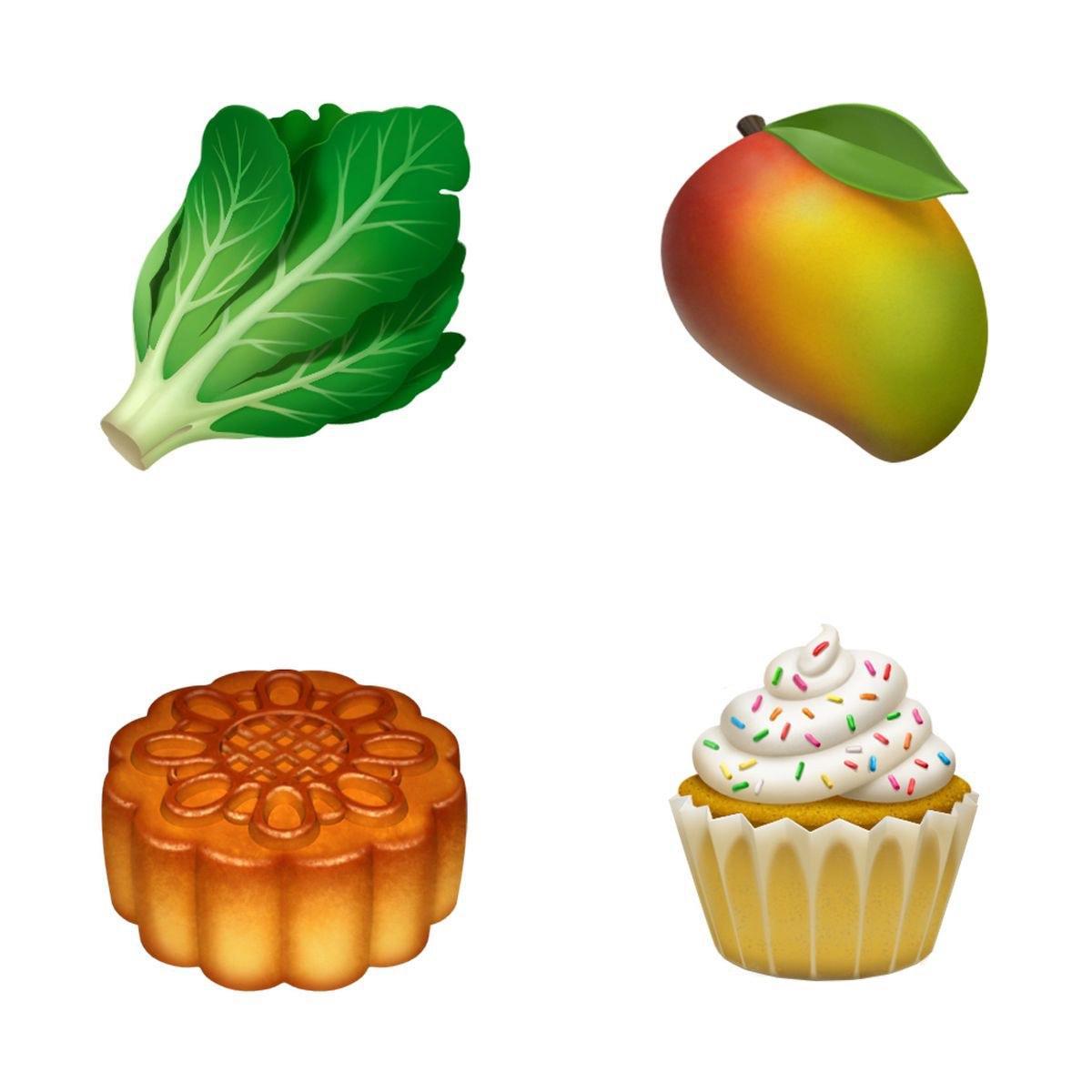 apple ios 12 emoji yemek