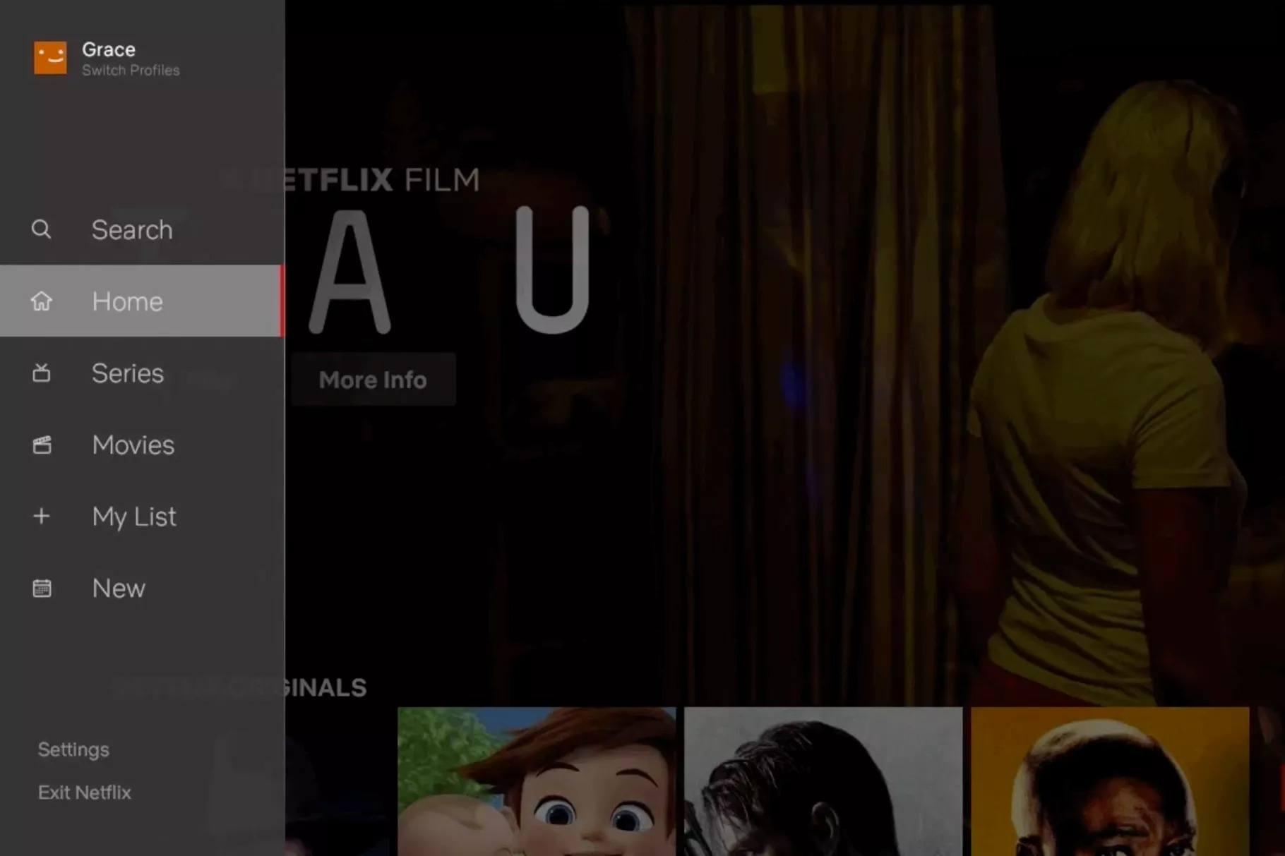 netflix tv yeni tasarım