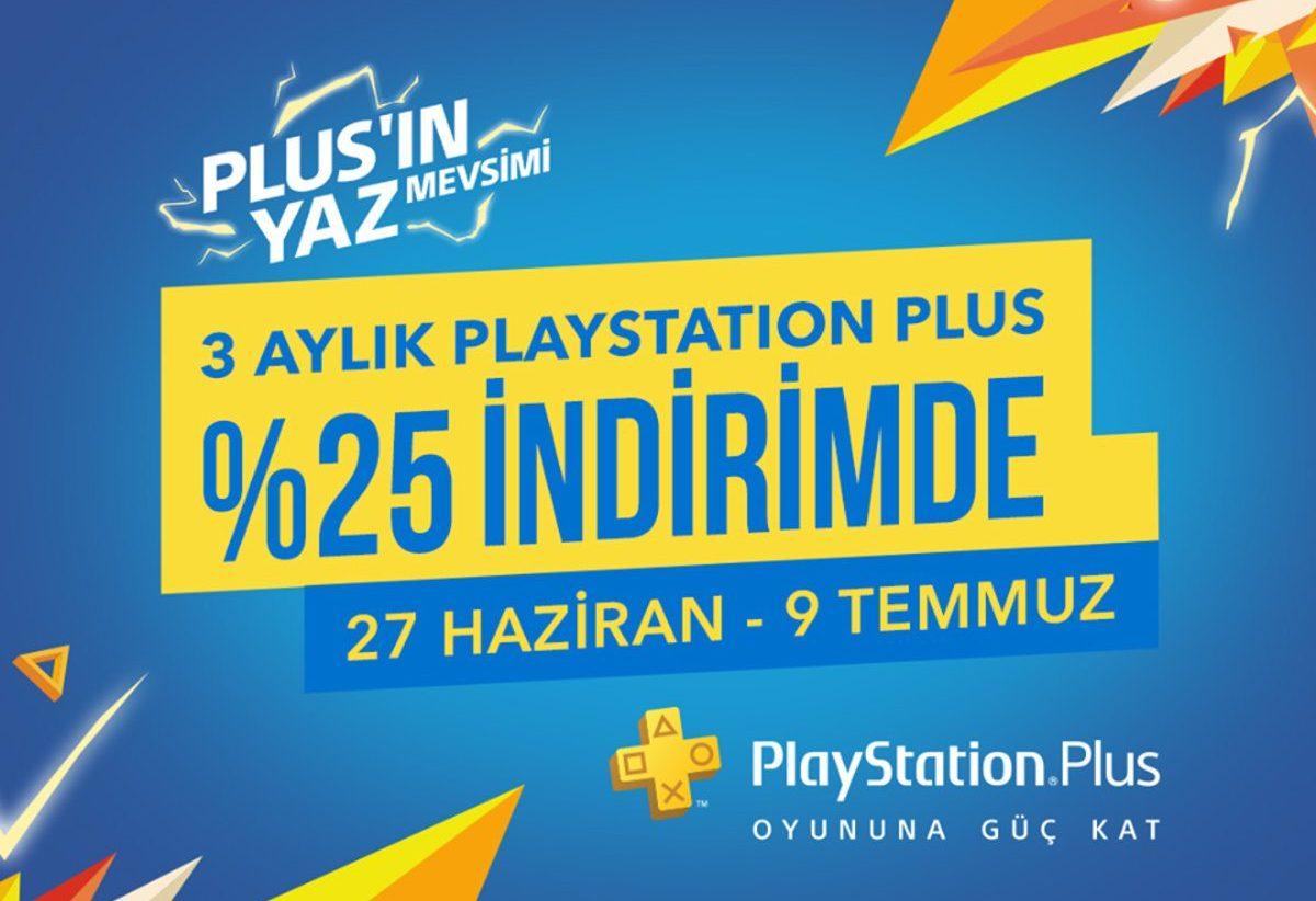 playstation plus yaz indirimi kampanyası
