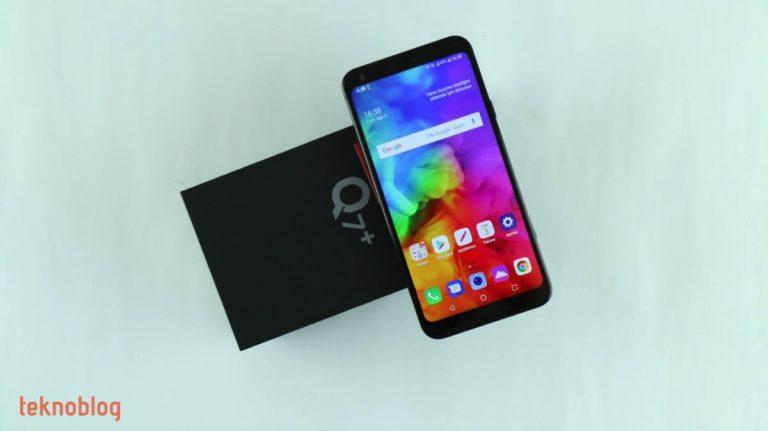 Video: LG Q7+ Kutusundan Çıkıyor