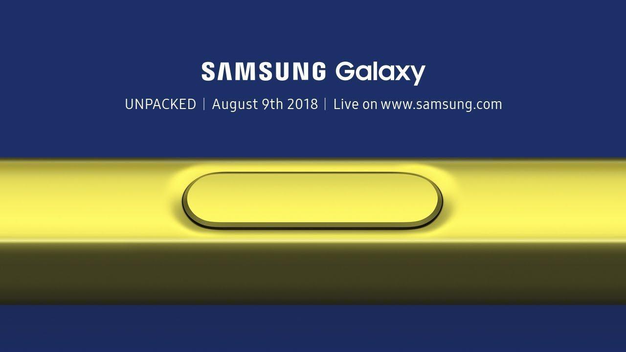 Samsung Galaxy Note 9 tanıtım etkinliğini canlı izleyin - Teknoblog