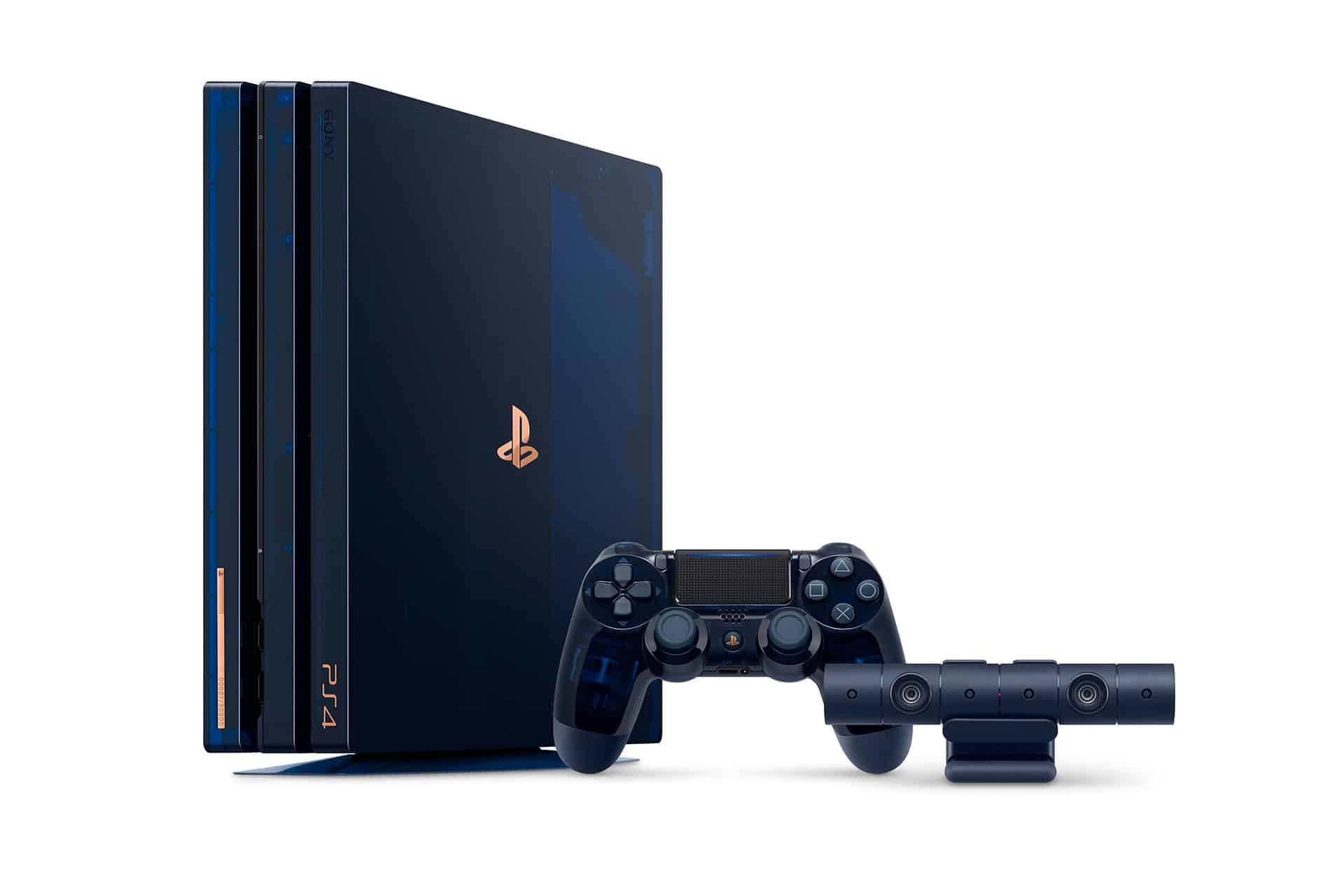 sony playstation 4 pro 500 milyon ozel surum