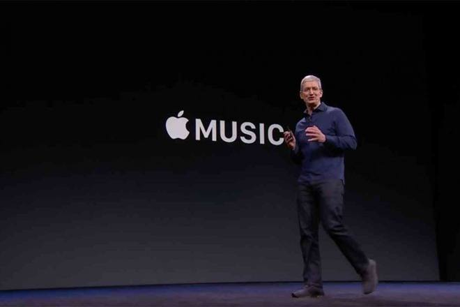 tim cook apple music
