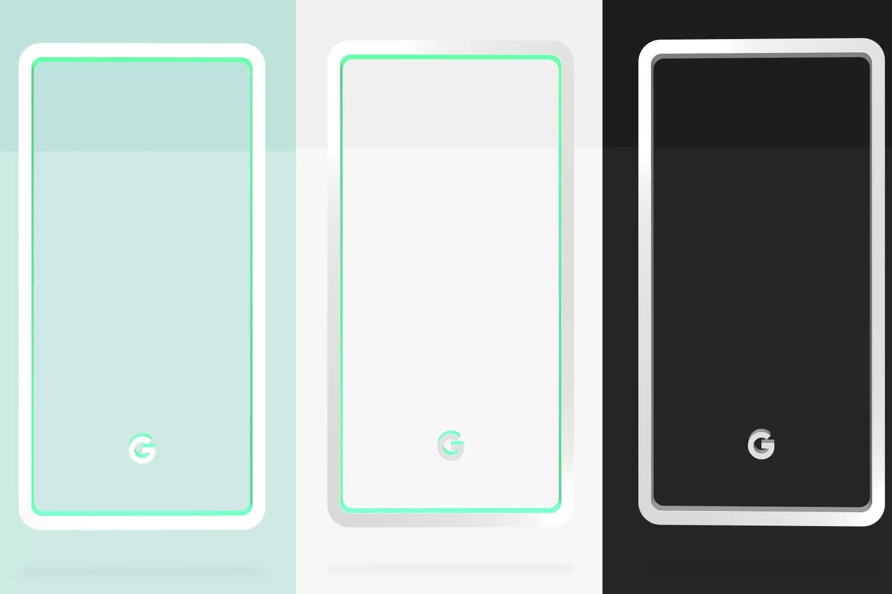 Google Pixel 3 ve Pixel 3 XL'i üç renk seçeneğiyle sunacak
