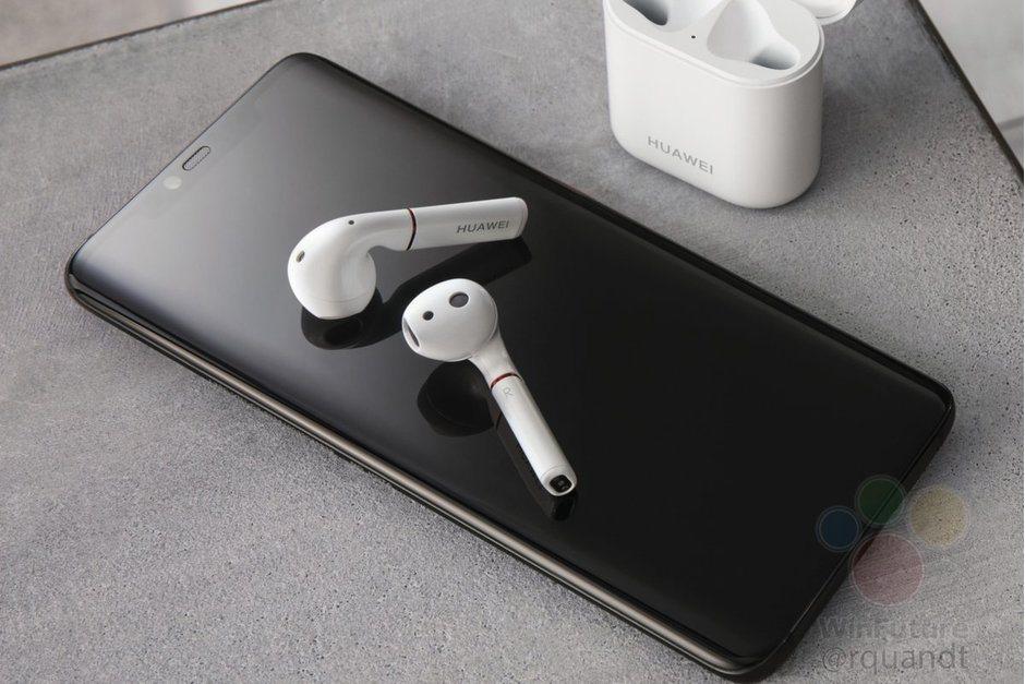 Huawei Mate 20 Pro yanında AirPods benzeri kulaklıkla görüntülendi