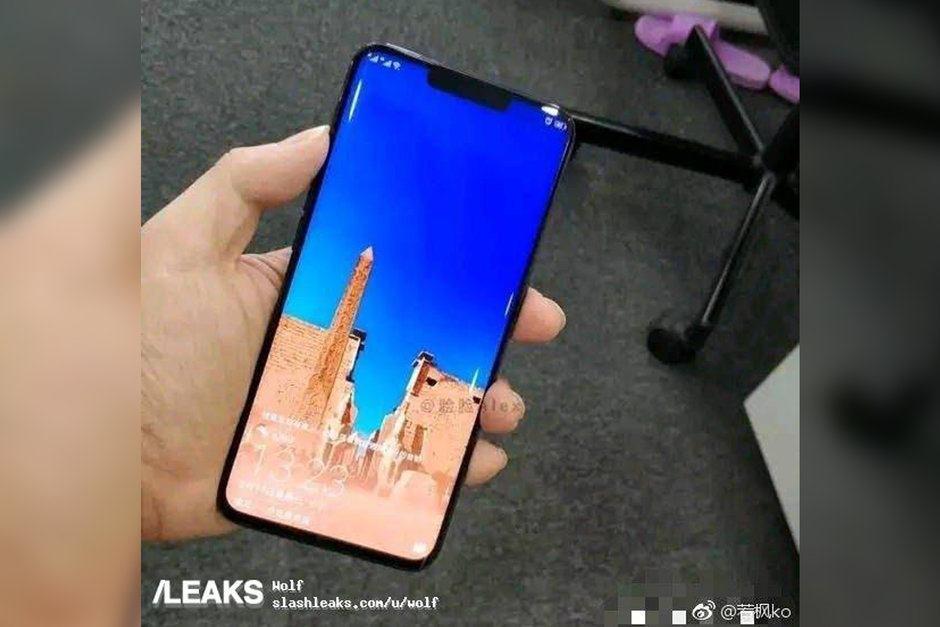 Huawei Mate 20 Pro sızıntısı ön panelin detaylarını ortaya koyuyor