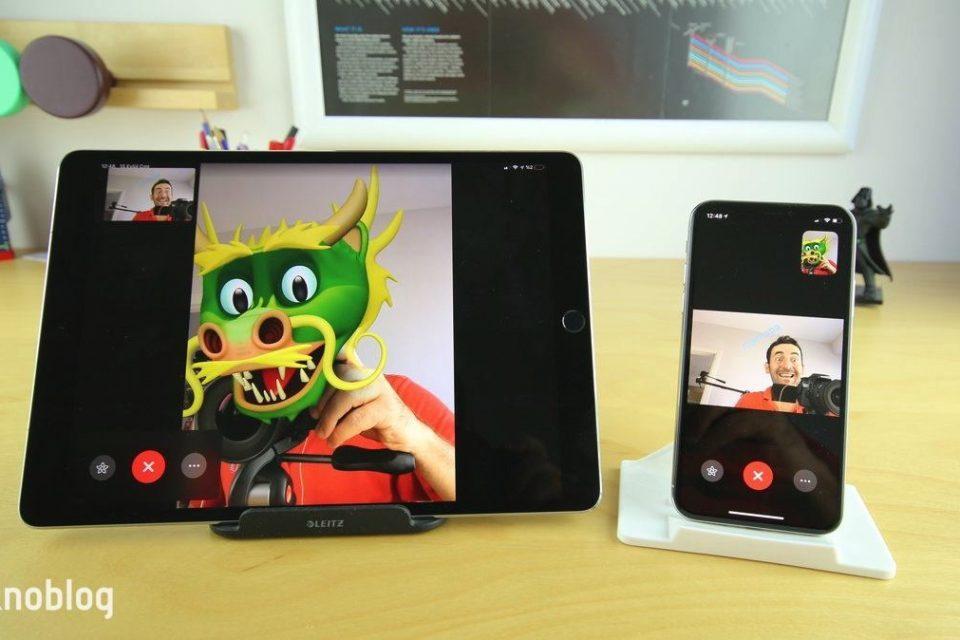 ios 12 FaceTime apple