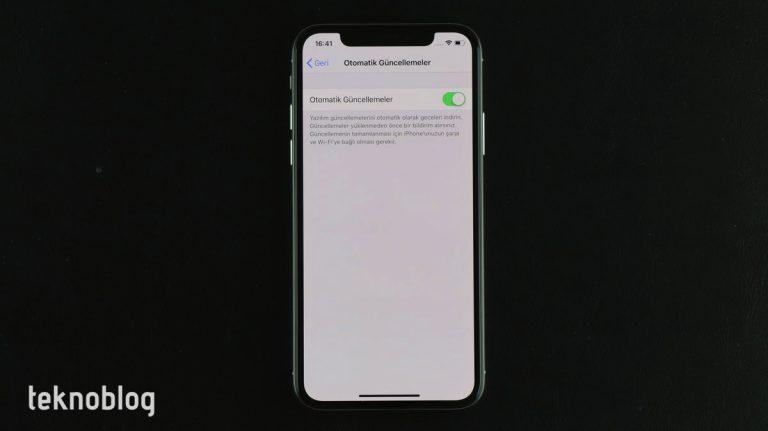 iOS 12: Otomatik Güncellemeler nasıl açılır?
