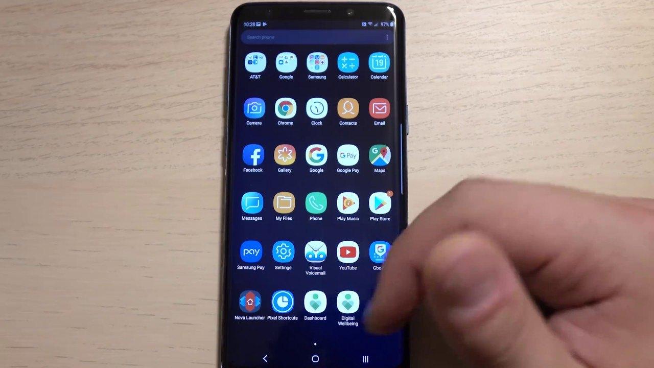 Galaxy S9'da Android 9 Pie tabanlı Samsung Experience 10 görüldü - Video