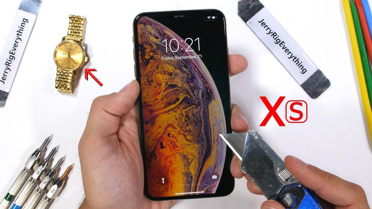 iPhone Xs Max dayanıklılık testinden geçmeyi başardı