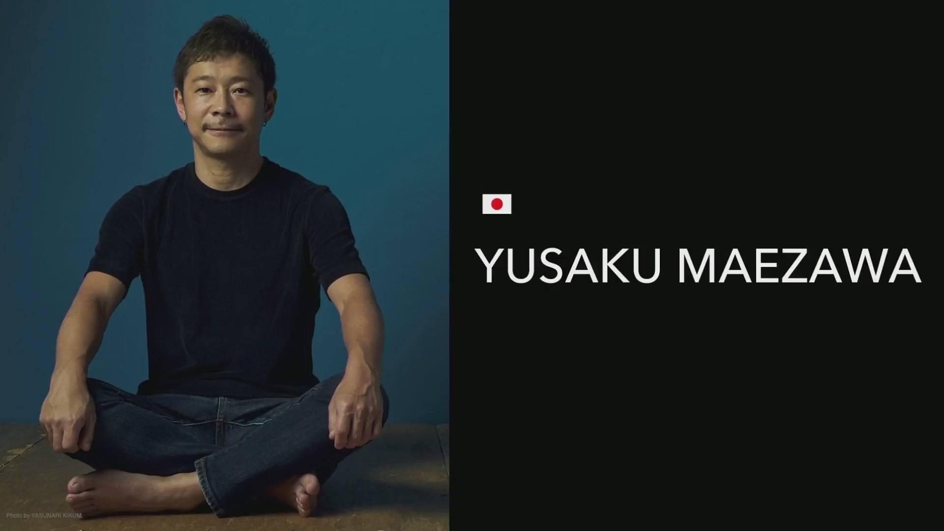 spacex yusaku maezawa