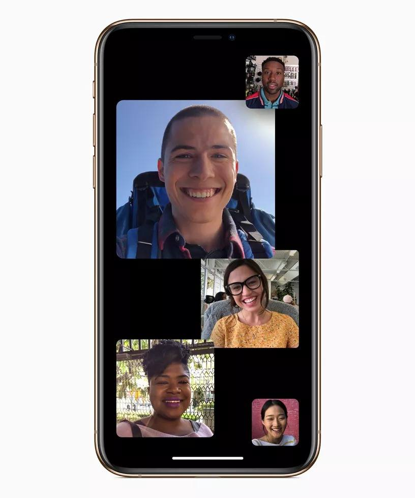apple grup facetime ios 12.1