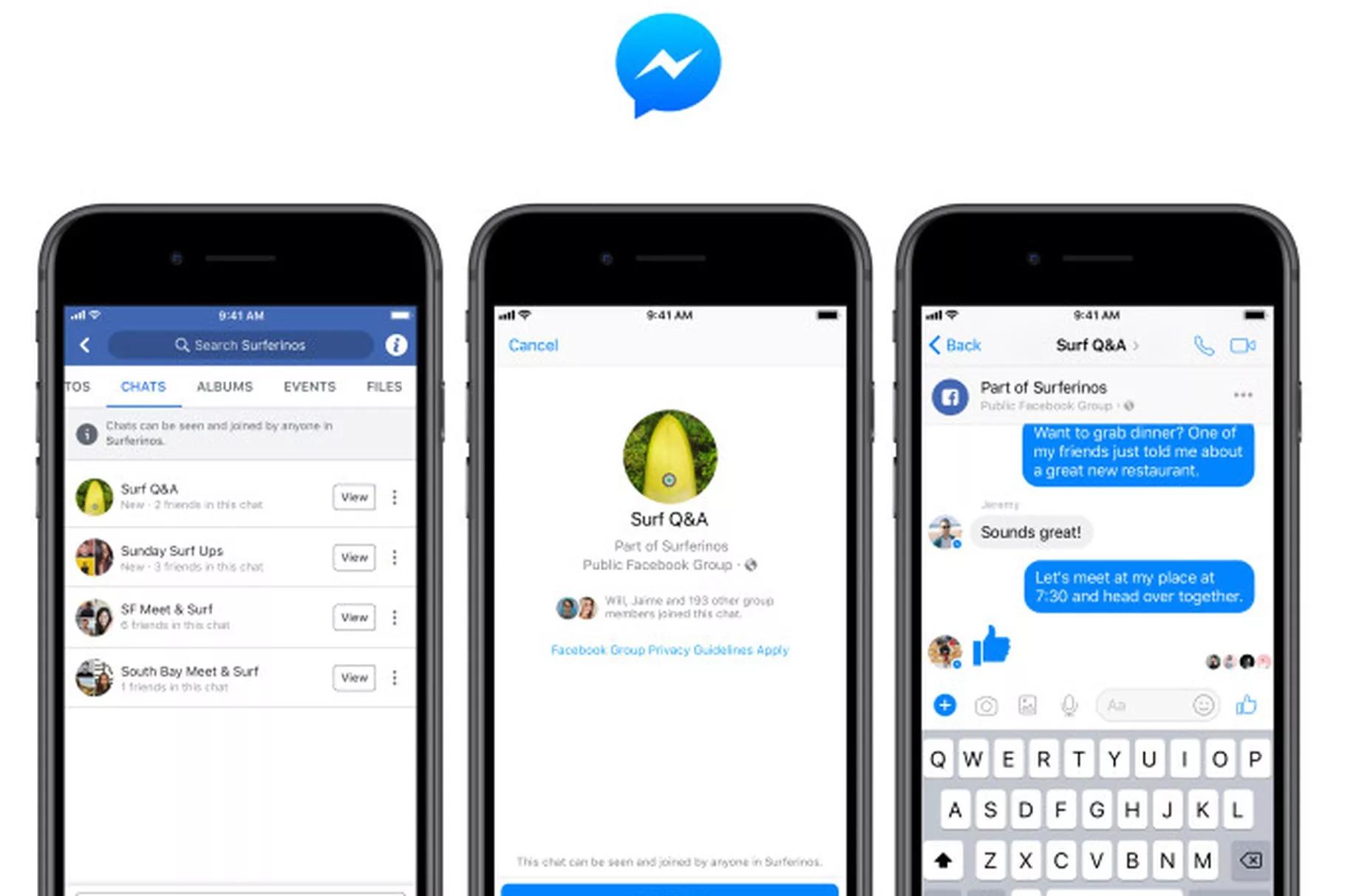 facebook gruplar sohbet
