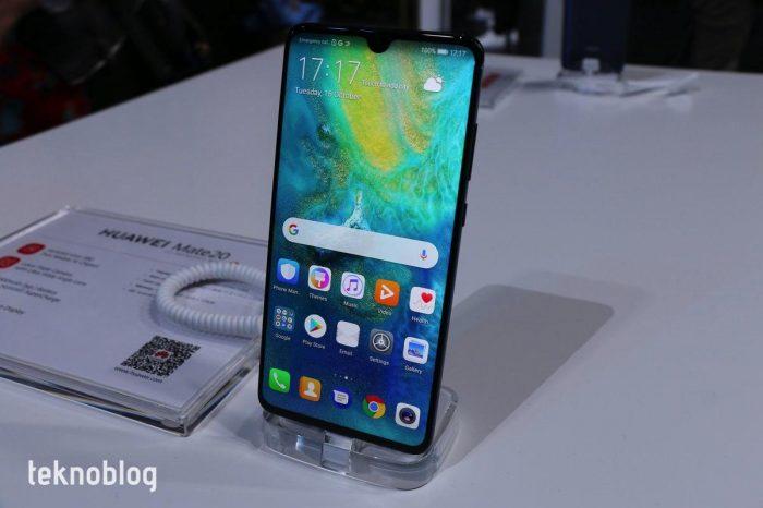 Huawei Mate 20 Ön İnceleme