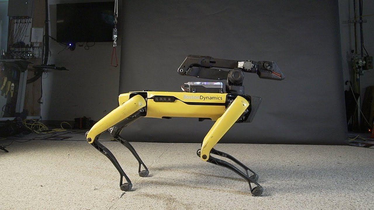 Boston Dynamics şimdi de Spot'u dans ettiriyor - Video