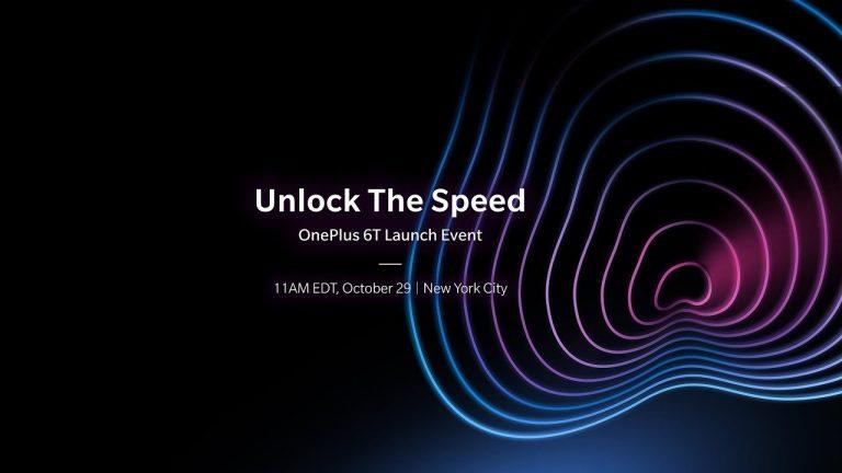 OnePlus 6T tanıtım etkinliğini izleyin – Canlı Yayın
