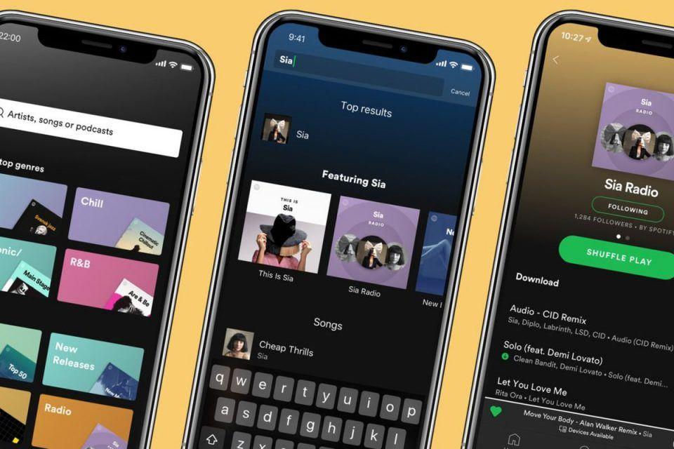 spotify apple premium muzik