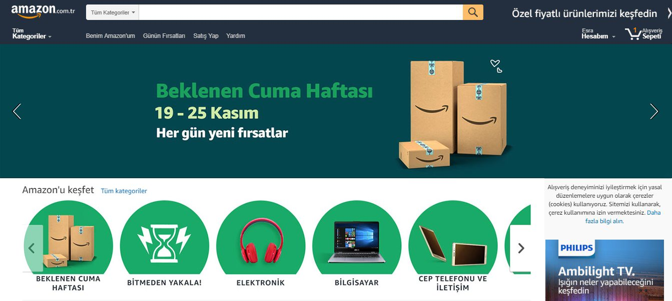 amazon beklenen cuma black friday 2018