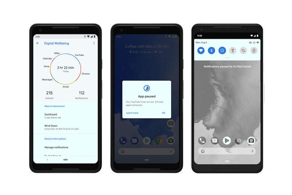 google android dijital denge