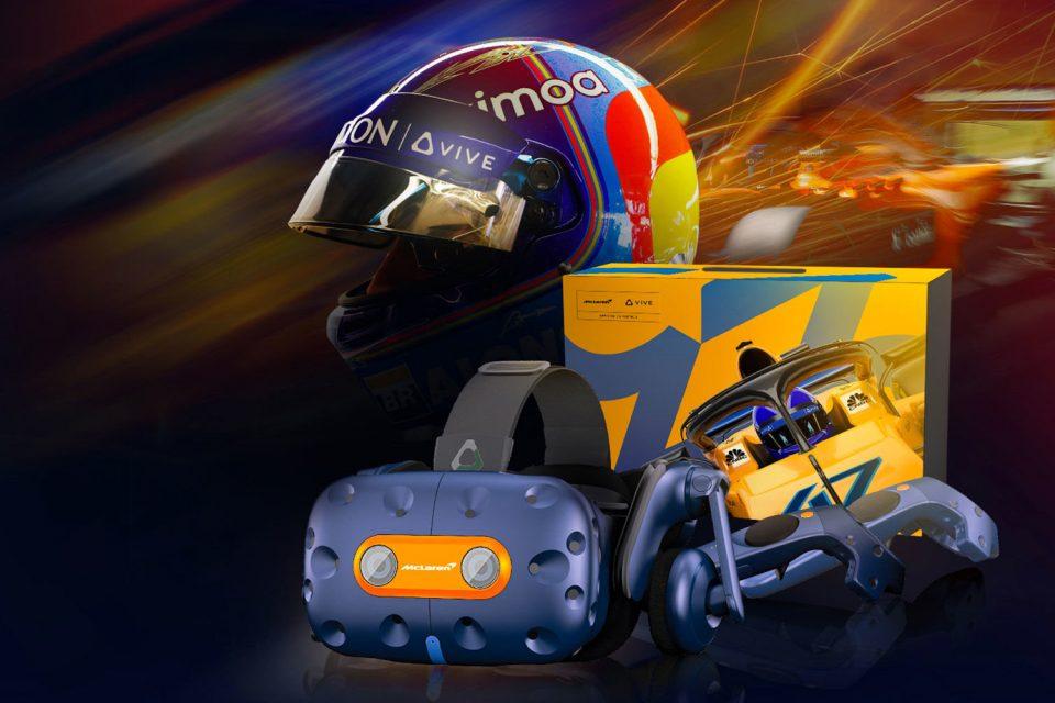 HTC Vive Pro McLaren Edition ile F1 hayranlarına hitap ediyor
