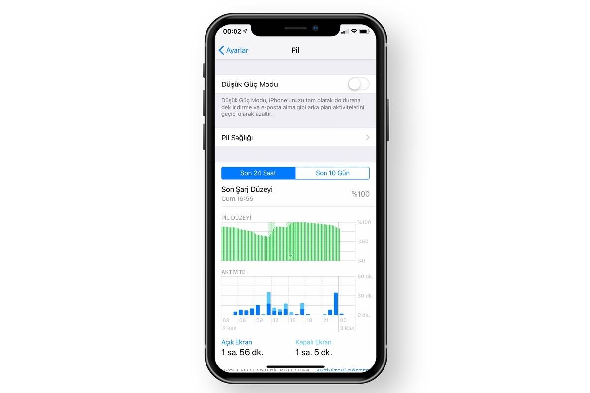 iphone pil sağlığı