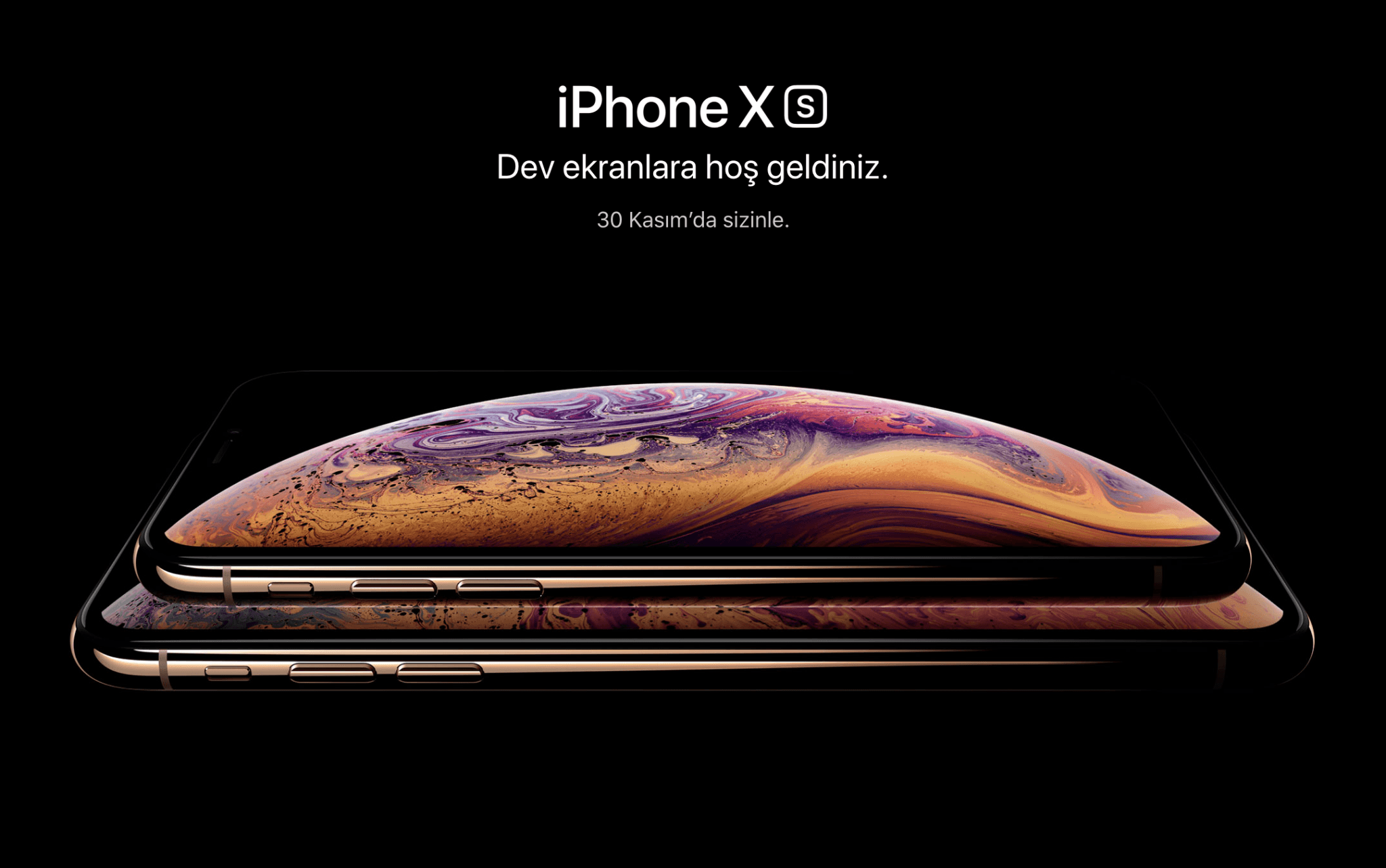 iphone xs türkiye