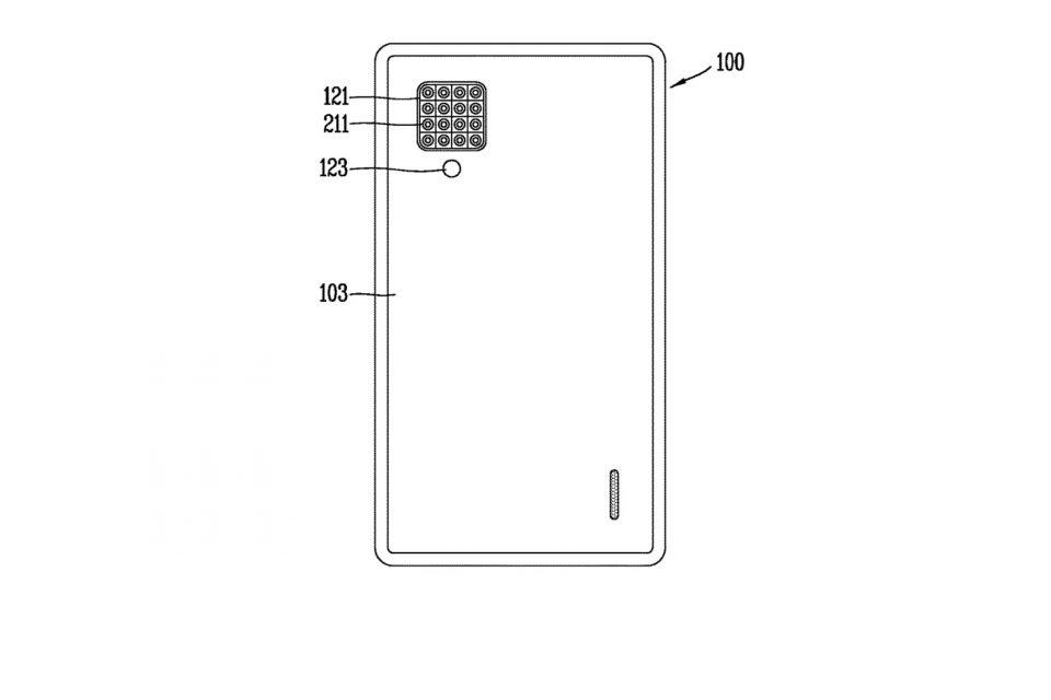 LG patenti 16 arka kameralı akıllı telefonun ipuçlarını veriyor