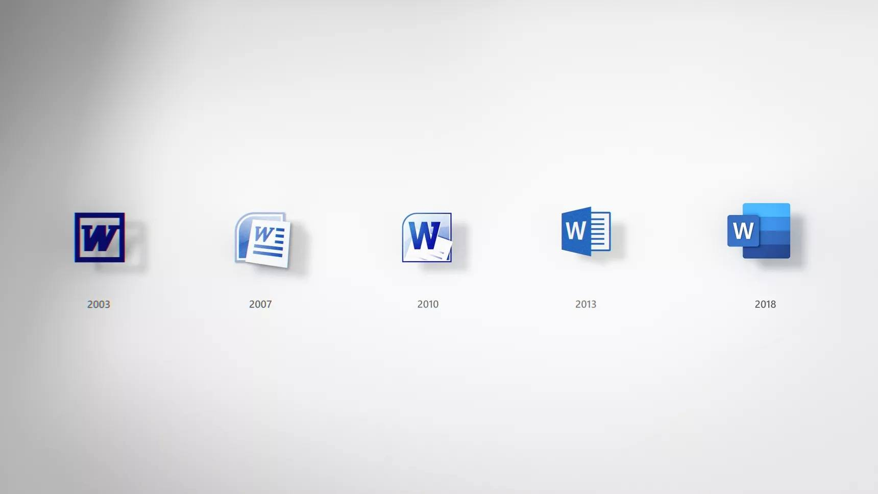 microsoft office word yeni ikonlar