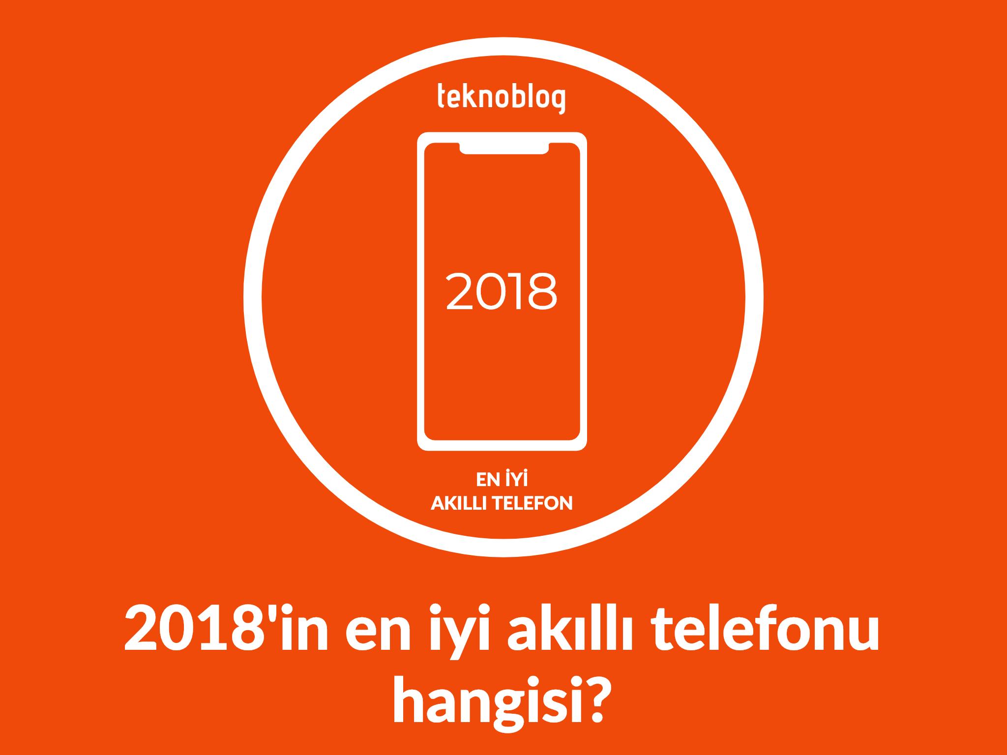 2018 en iyi akıllı telefonu anketi
