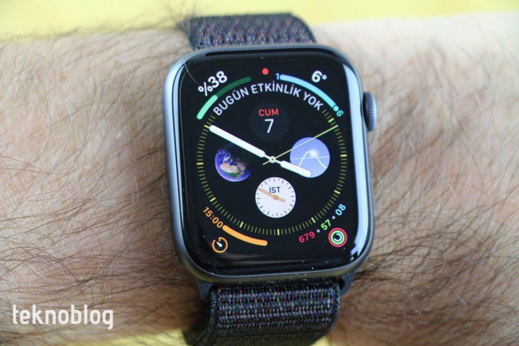 apple watch uyku takibi