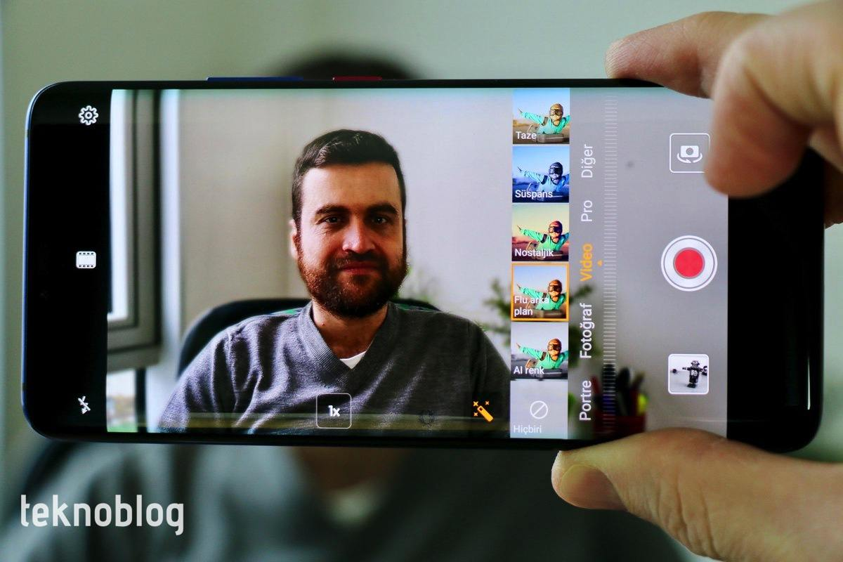 huawei mate 20 pro video filtreleri