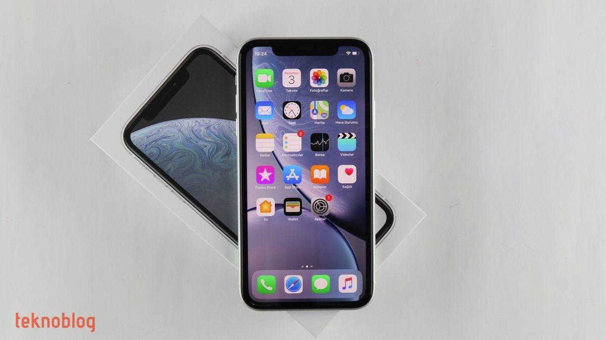 iphone xr kutu açılımı
