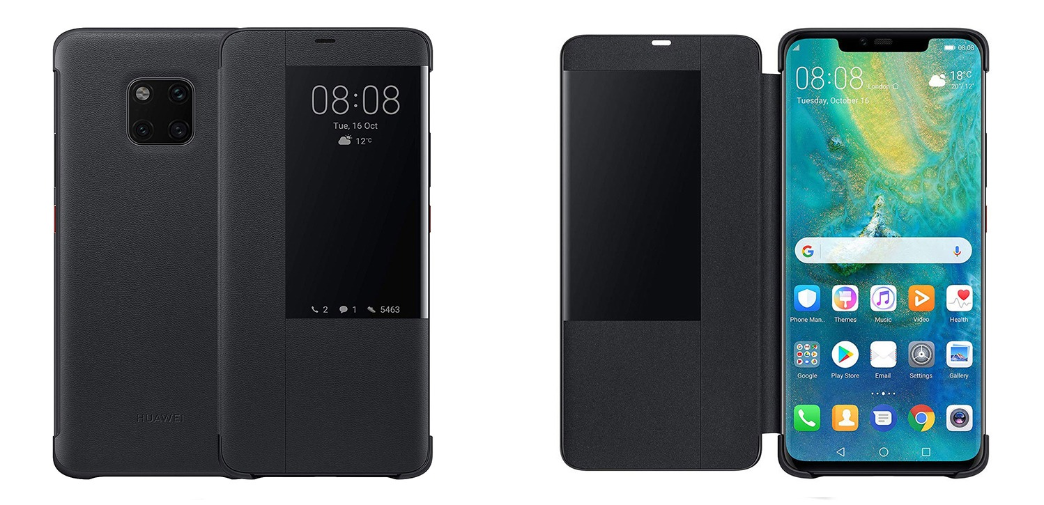 huawei smart view flip case