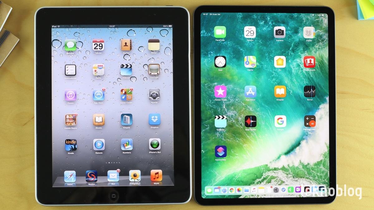 ipad 2010 vs. ipad pro 11