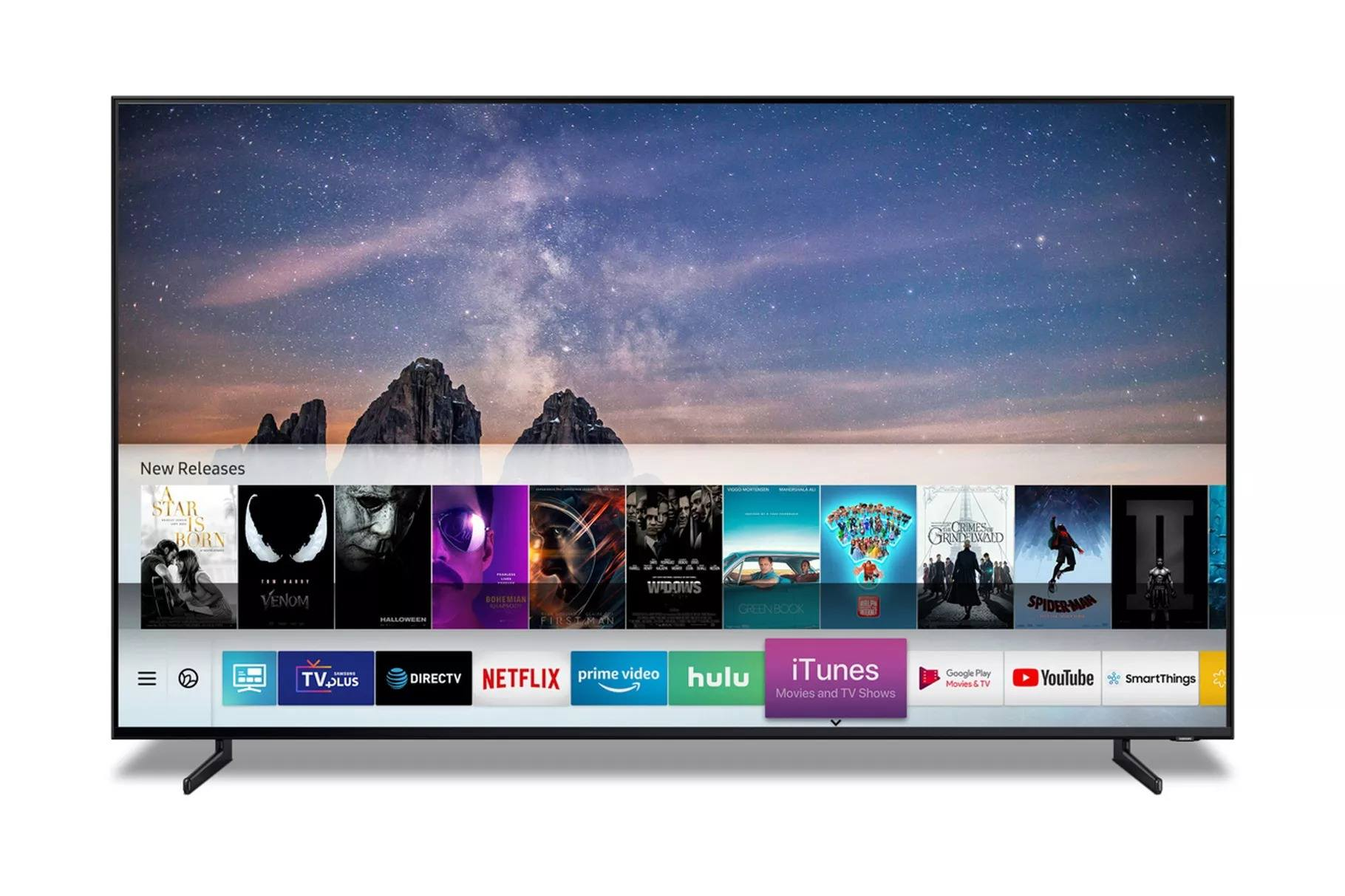 itunes samsung smart tv